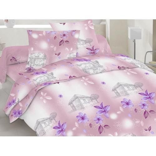 Комплект постельный полуторный 20-1080 лиловый
