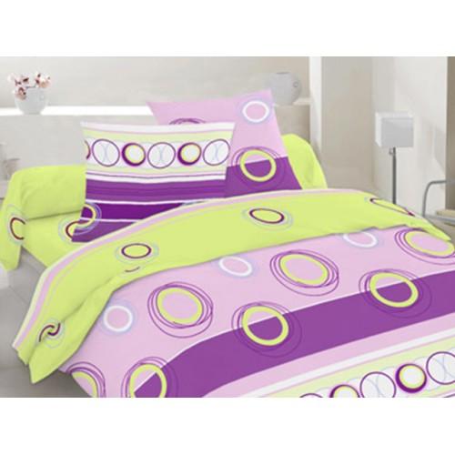 Комплект постельный полуторный 30-0266 фиолет.