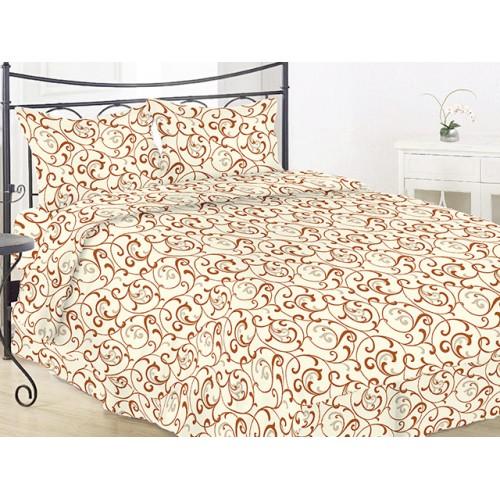 Комплект постельный полуторный 40-0456 беж.