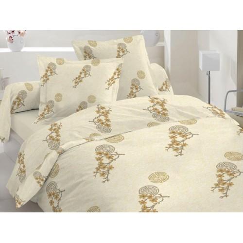 Комплект постельный полуторный 50-0012 беж.