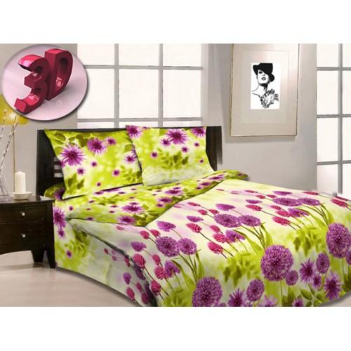 Комплект постельный полуторный Цветущий луг