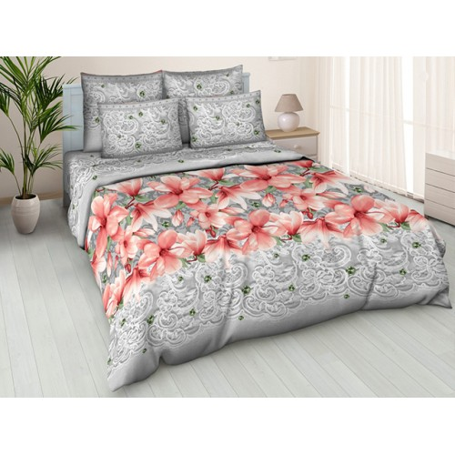 Комплект постельный полуторный Магнолия