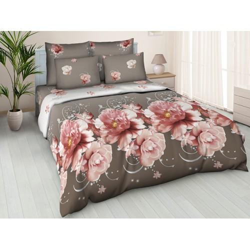 Комплект постельный полуторный Нежный пион