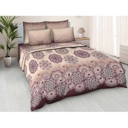 Комплект постельный полуторный Орнамент крас.
