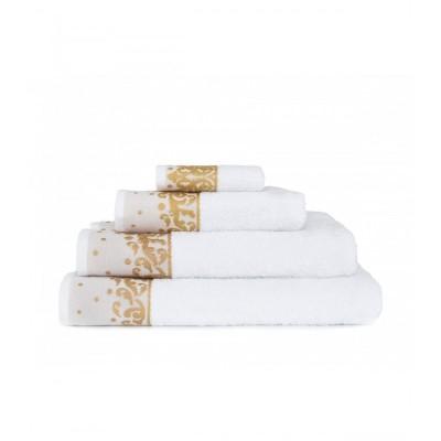 Полотенце Irya Jakarli - New Flossy beyaz белый 50*90