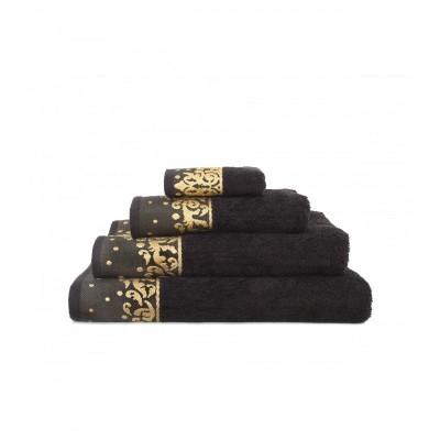 Полотенце Irya Jakarli - New Flossy siyah черный 90*150