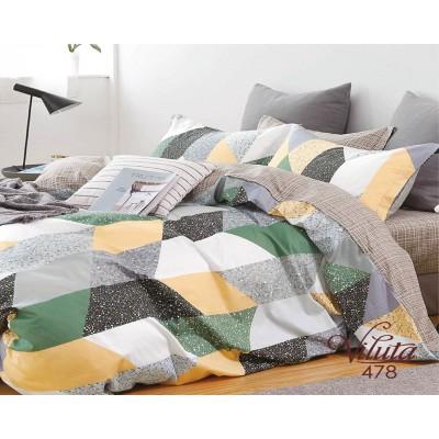 Комплект постельного белья Вилюта Сатин 478 семейный