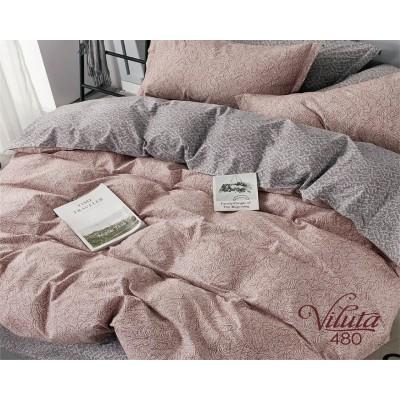 Комплект постельного белья Вилюта Сатин 480 семейный