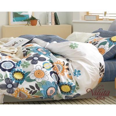 Комплект постельного белья Вилюта Сатин 484 евро