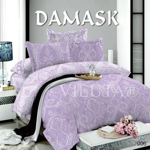 Постельное белье полуторное Вилюта поплин Дамаск 006