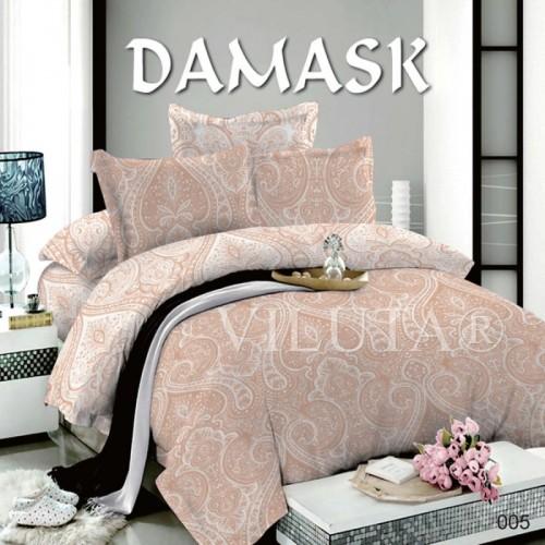 Постельное белье полуторное Вилюта поплин Дамаск 005