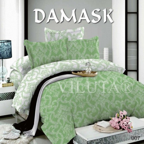 Постельное белье полуторное Вилюта поплин Дамаск 007