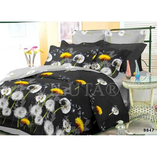 Комплект постельного белья Вилюта двуспальный бязь Ранфорс 9847
