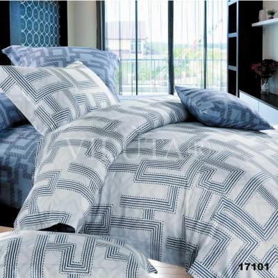 Комплект постельного белья евро бязь ранфорс Viluta 17101