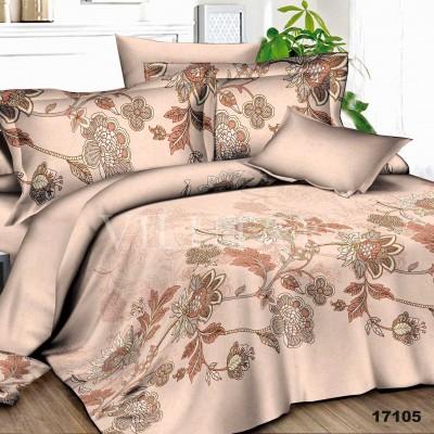 Комплект постельного белья евро бязь ранфорс Viluta 17105