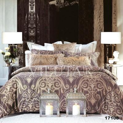 Комплект постельного белья евро бязь ранфорс Viluta 17108
