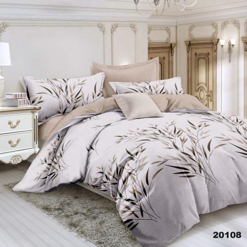 Комплект постельного белья семейный ранфорс Вилюта 20108