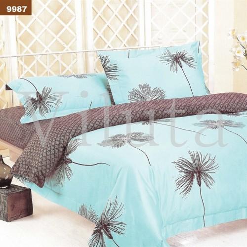Комплект постельного белья Вилюта двуспальный бязь Ранфорс 9987