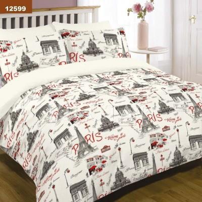 Комплект постельного белья евро бязь ранфорс Viluta 12599