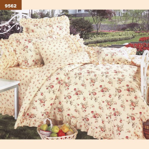 Комплект постельного белья Вилюта двуспальный бязь Ранфорс 9562