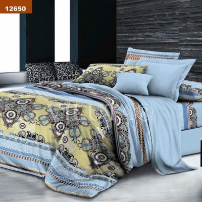 Комплект постельного белья семейный ранфорс 12650