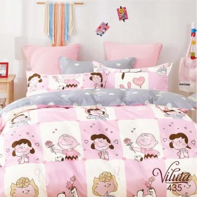 Комплект постельный подростковый сатин Вилюта 435
