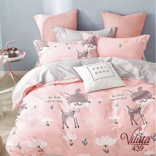 Комплект постельный подростковый сатин Вилюта 439