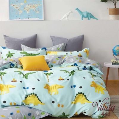 Комплект постельный подростковый сатин Вилюта 443