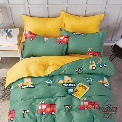Комплект постельный подростковый сатин Вилюта 452
