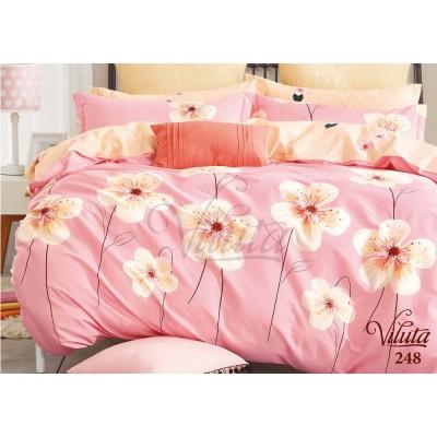 Комплект постельный семейный сатин Viluta 248