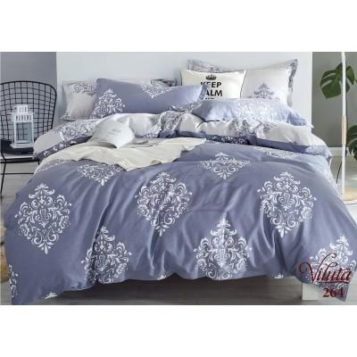 Комплект постельный семейный сатин Viluta 264