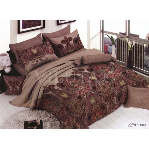 Комплект постельного белья полутораспальный сатин Вилюта 932