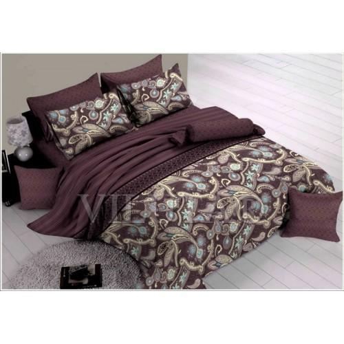 Комплект постельного белья полутораспальный сатин Вилюта 935