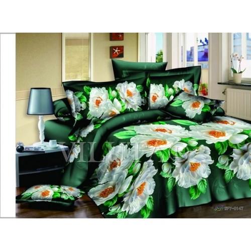 Комплект постельного белья полутораспальный сатин Вилюта 147