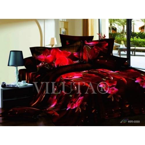 Комплект постельного белья полутораспальный сатин Вилюта 589