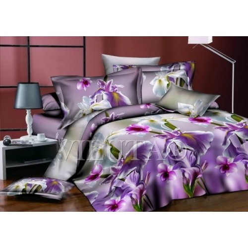 Комплект постельного белья полутораспальный сатин Вилюта 585