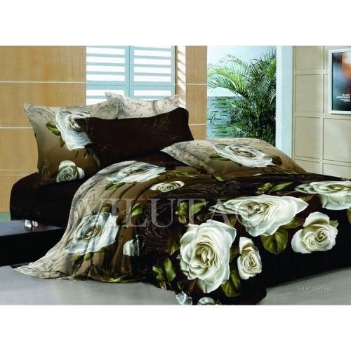 Комплект постельного белья полутораспальный сатин Вилюта 745